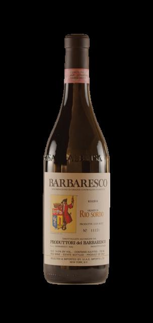 Rio Sordo Barbaresco Riserva DOCG