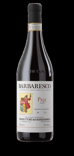 Pajè Barbaresco Riserva DOCG